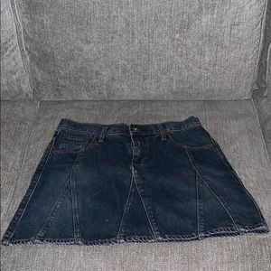 Polo Jeans Co. Ralph Lauren - mini jean skirt